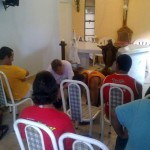 Padre Israel recebe Dom Celio na Fazendinha (10)
