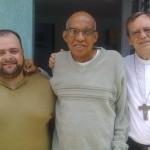 Padre Israel recebe Dom Celio na Fazendinha (13)