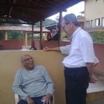 Padre Israel recebe Dom Celio na Fazendinha (2)