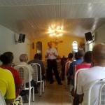 Padre Israel recebe Dom Celio na Fazendinha (6)