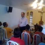 Padre Israel recebe Dom Celio na Fazendinha (8)