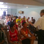 Padre Israel recebe Dom Celio na Fazendinha (9)