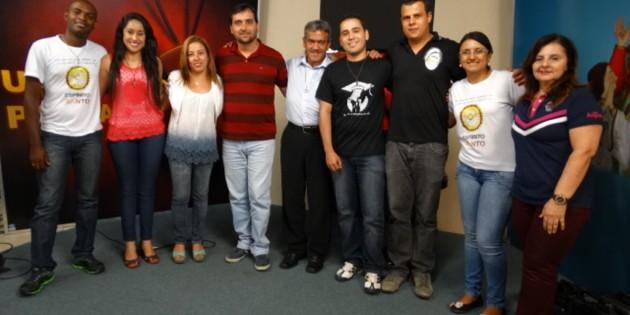 Pe. Ronaldo Neri e RCC Lavras no Programa Um Coração Para Amar