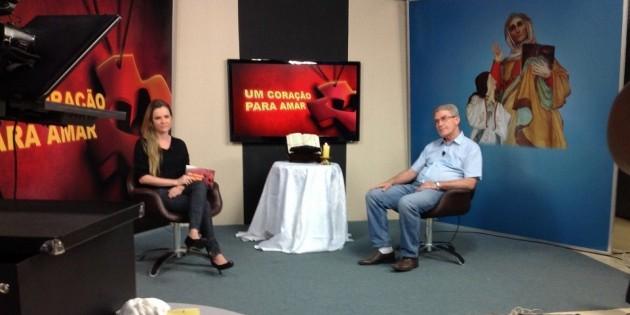 Pe. Elígio é entrevistado no programa Um Coração para Amar